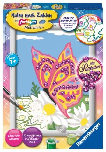 Ravensburger 284740 Malen Nach Zahlen Schmetterling