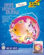 Papier Laternen-Bastelset Ponys