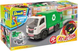 Revell Junior Kit RC Müllwagen im Maßstab 1:20