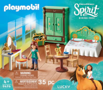 Playmobil 9476 Luckys Schlafzimmer