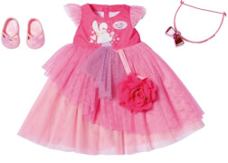 Zapf 827178 BABY born Boutique Deluxe Ballkleid 43 cm