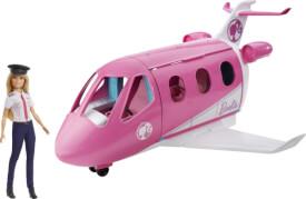 Mattel GJB33 Barbie Reise DreamPlane mit Puppe