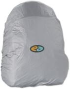 Regenhaube YZEA silber mit Logobedruckun
