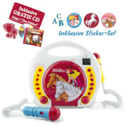 Bibi und Tina Karaoke CD/MP3 Player+CD