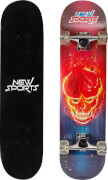 New Sports Skateboard Ghostrider, Länge 78,7 cm
