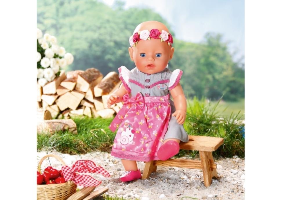 Puppen & Zubehör Zapf BABY born® Soft Touch Dirndl Edition